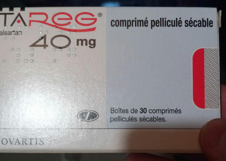 TAREG 40 mg - Product - fr