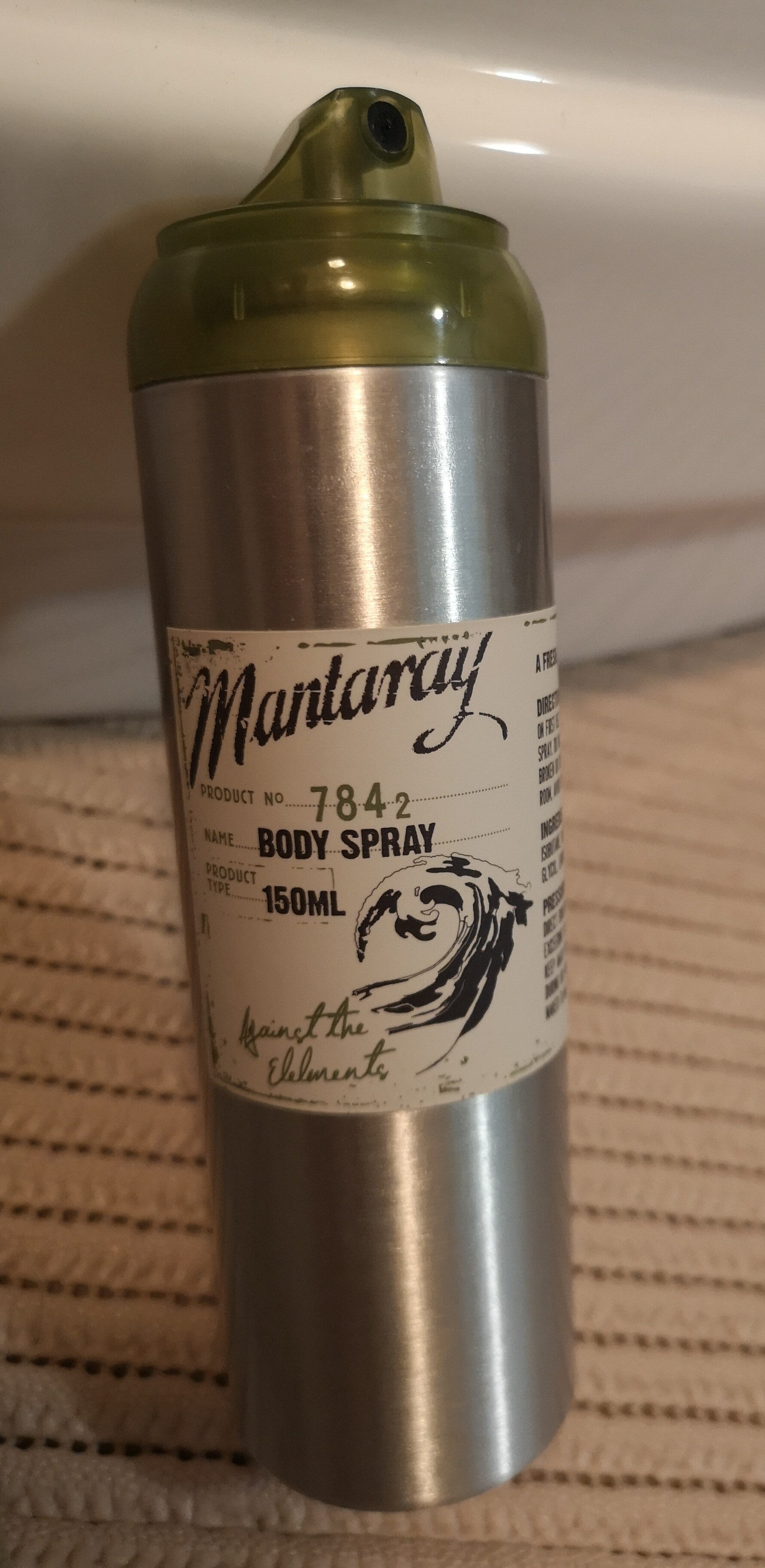 Mantaray body spray - Produit - en