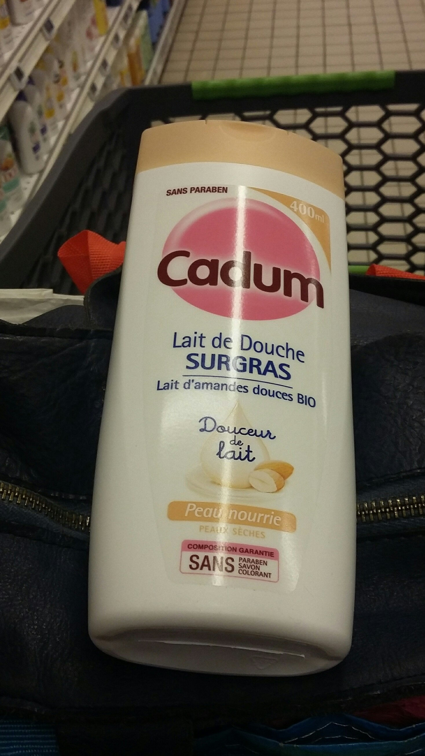 lait de douche srgras - Produit - fr