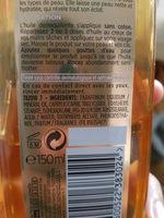 huile extraordinaire éclat sublime l'oréal - Ingredients
