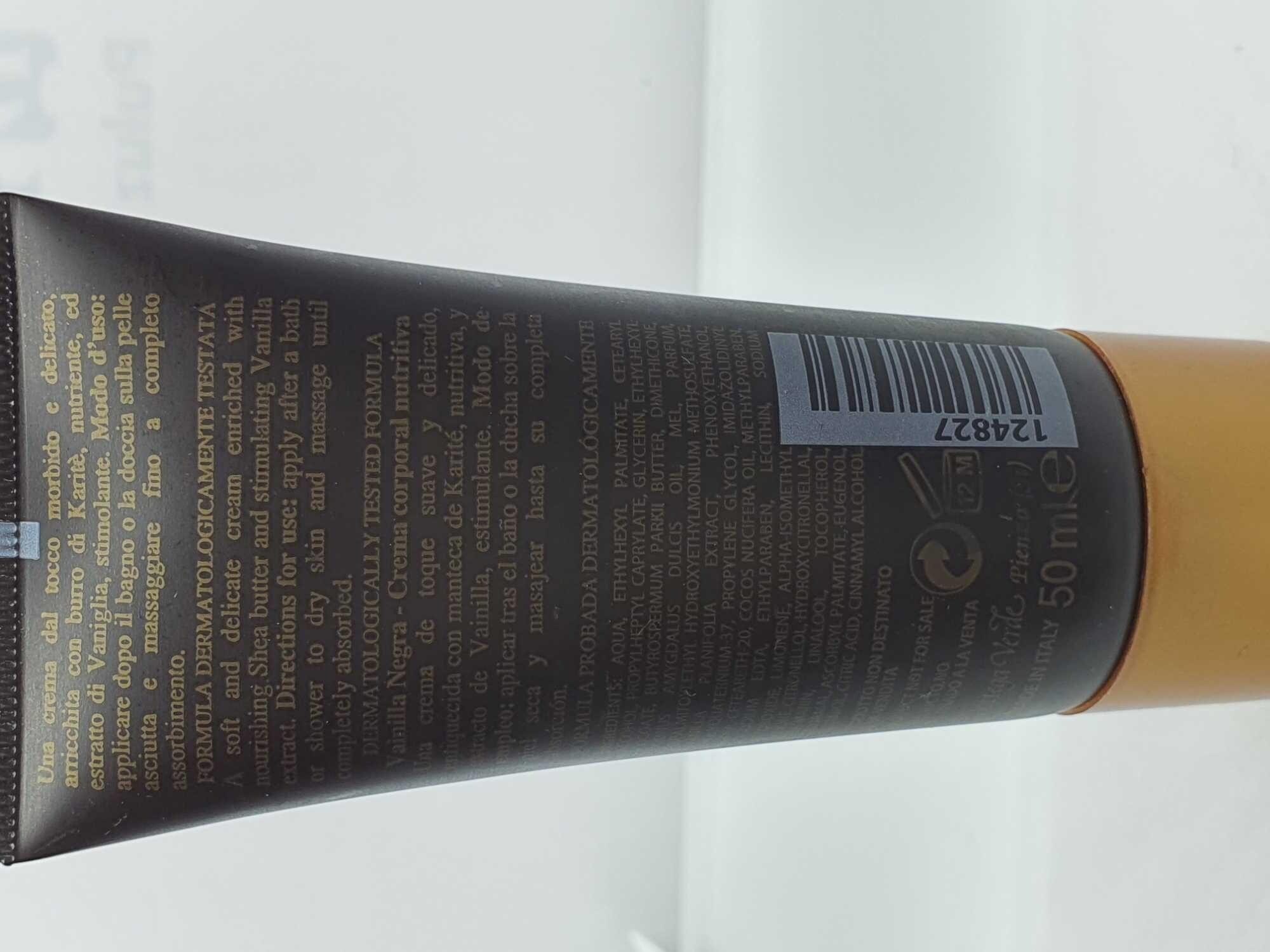Vaniglia Nera - Product - es