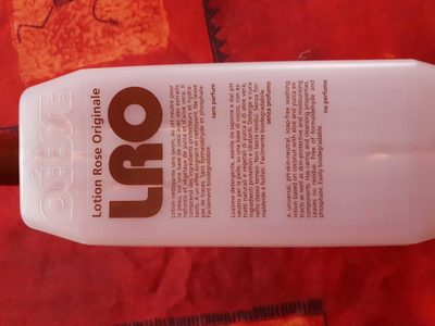 LRO Lotion Rose Originale - Product - fr