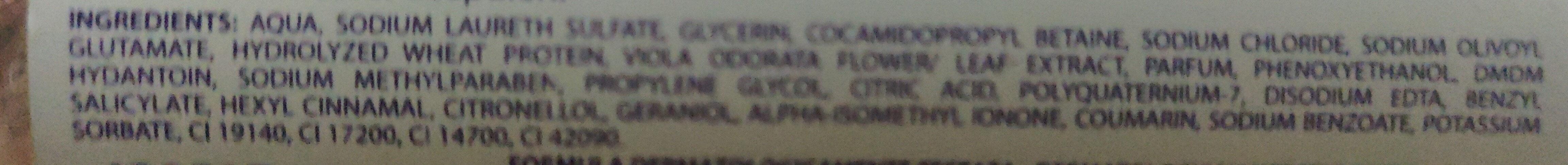 Violetta lavamani delicato - Ingredients - it