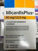 MicardisPlus 80mg/12,5mg - Produit