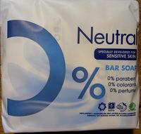 Neutral bar soap - Product - nl