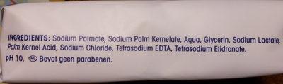 Neutral bar soap - Ingredients - nl