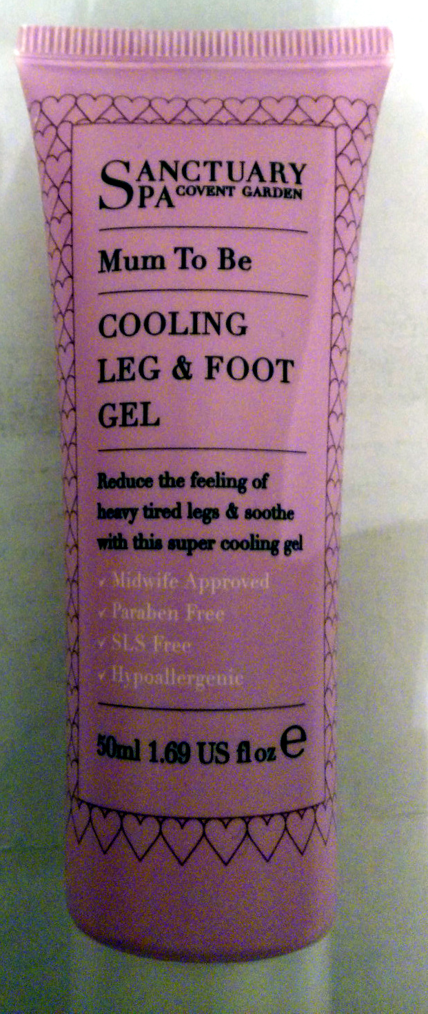 Mum To Be Cooling Leg & Foot gel - Product