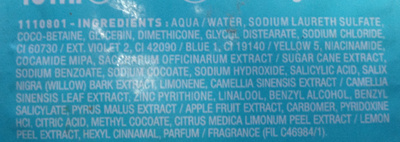 Fructis Classic - Ingredients - fr