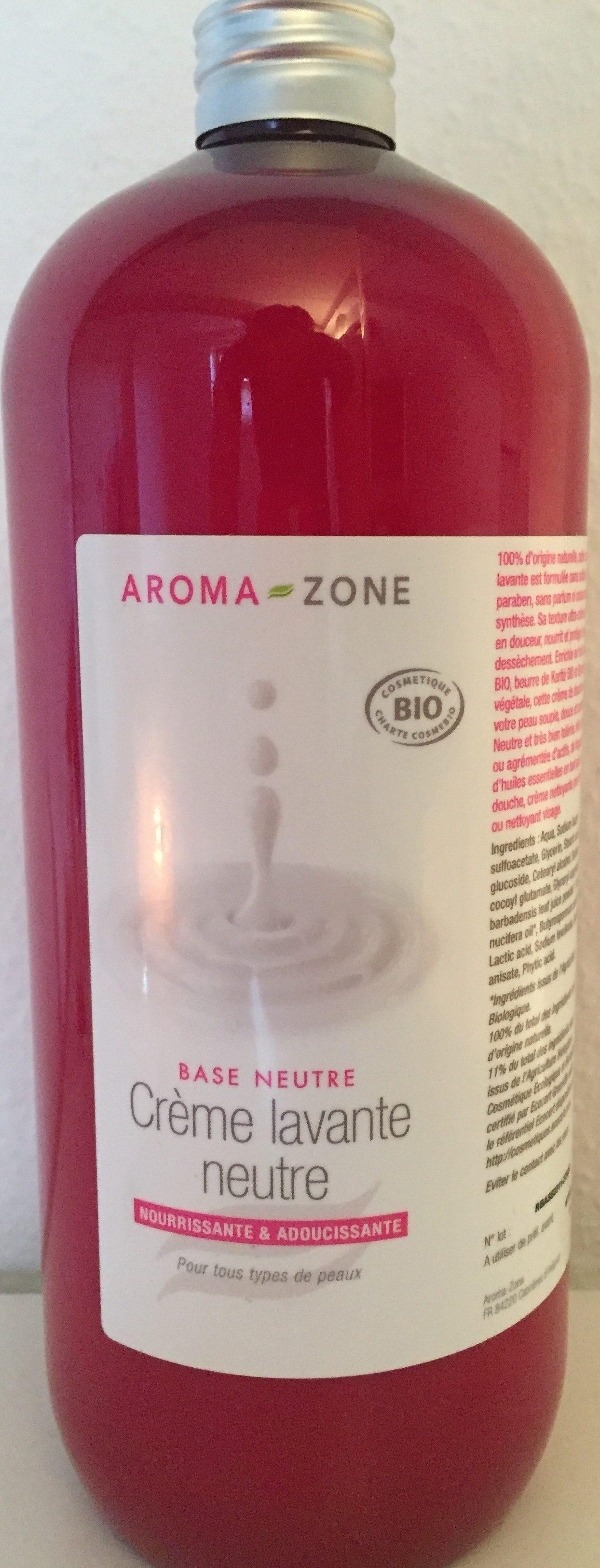 Aroma-zone crème lavante neutre - Product - fr