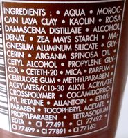 Tradition de Hammam - Ingredients