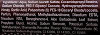 Les Délices Gel douche onctueux Chocolat - Ingredients - fr