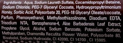 Les Délices Gel douche onctueux Chocolat - Ingredients