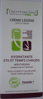 Crème Légère Hydratante Eté et Temps Chauds - Product