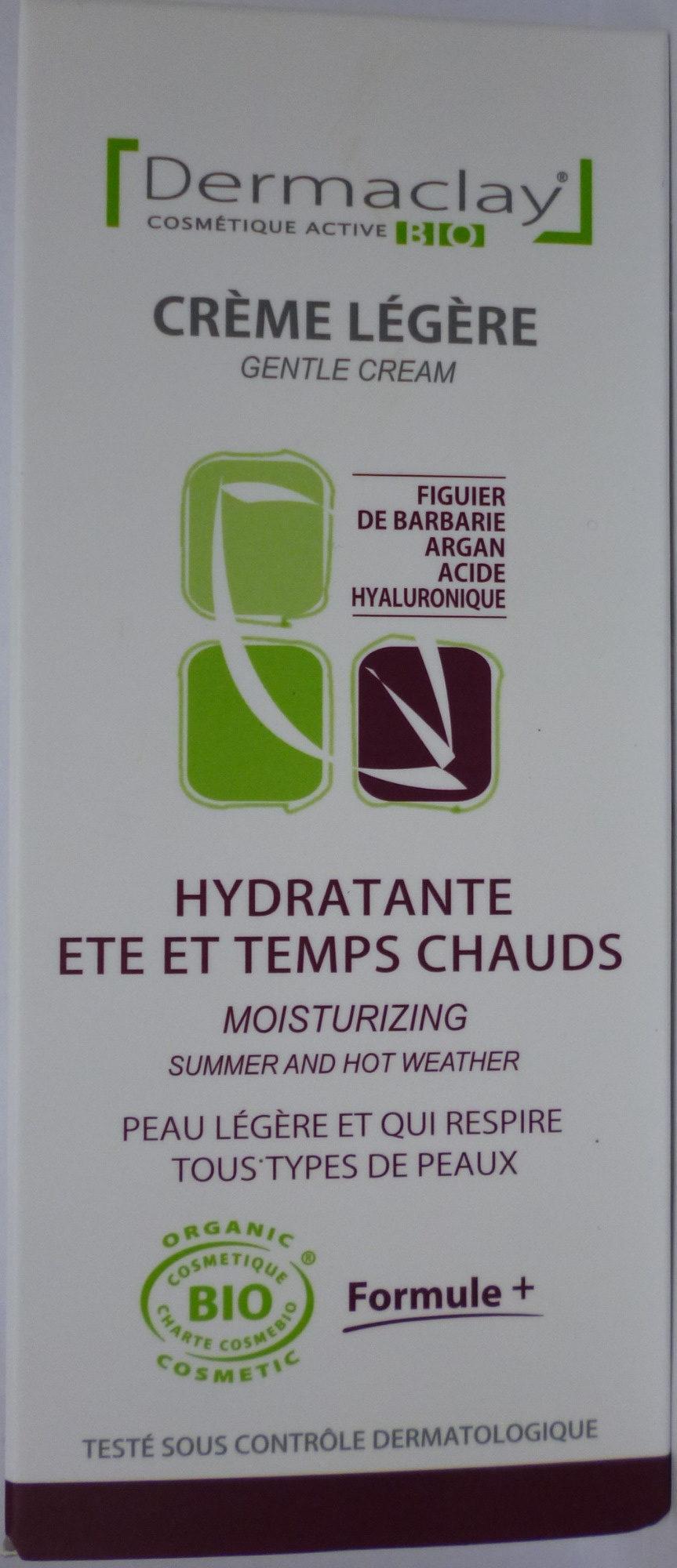 Crème Légère Hydratante Eté et Temps Chauds - Product - fr