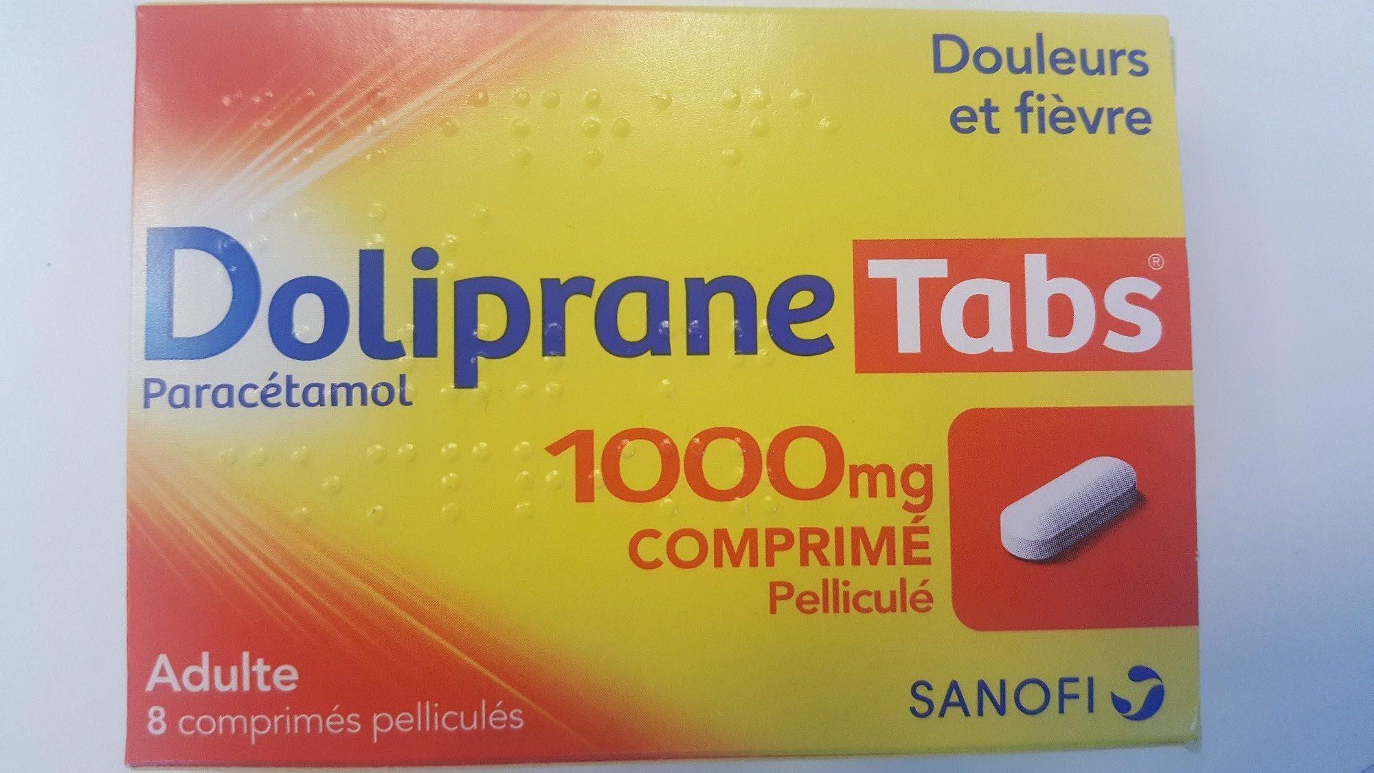Doliprane Tabs 1000mg - Product - fr