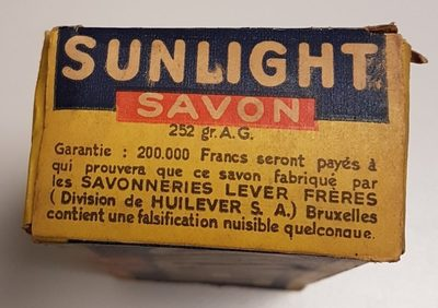 SUNLIGHT - Ingredients - fr