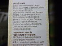 Nectar de Jeunesse – Sérum Éclat 2 en 1 Anti-tâches - Ingrédients - fr
