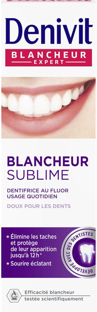 Dentifrice crème blancheur & éclat DENIVIT - Product - fr