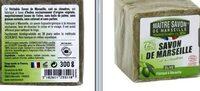 Savon de Marseille olive MAITRE SAVON - Product - fr