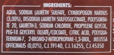 Bain aromatique aux herbes - Melisse - Ingredients - fr