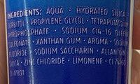 Complex 3 - Ingredients - fr
