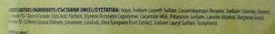 Olive Handwash - Ingredients - en