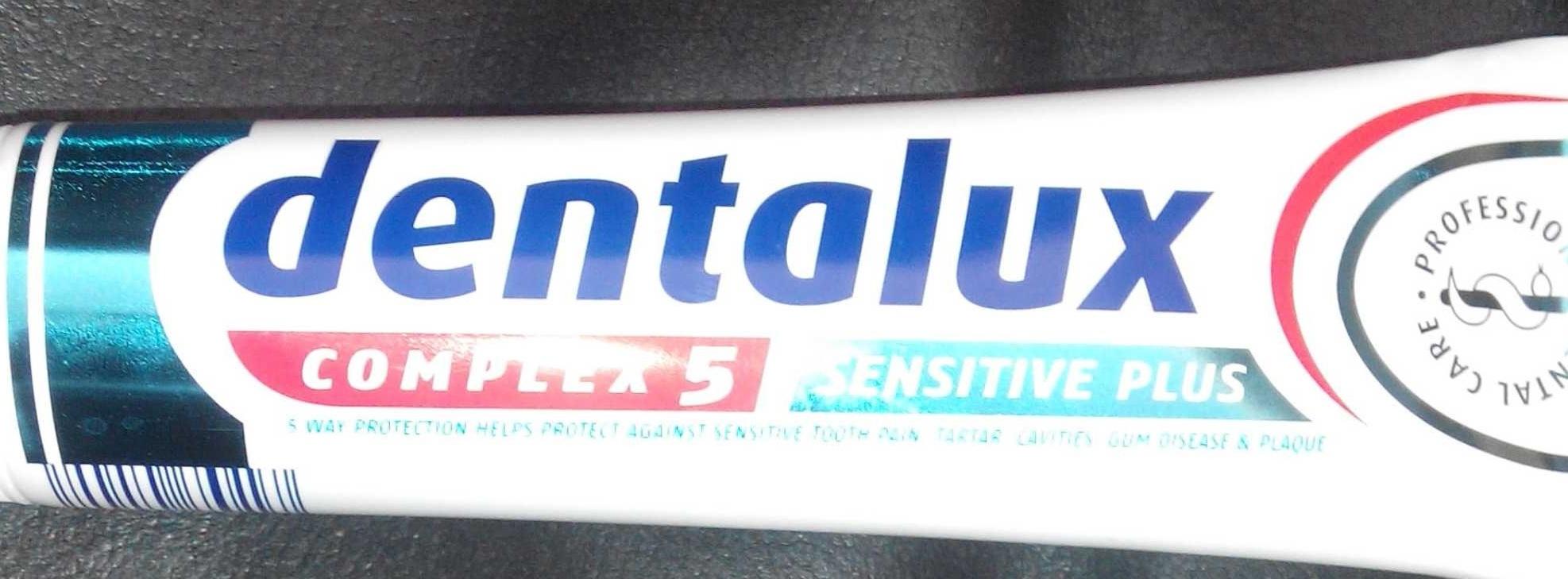 Dentifrice Complex 5 Sensitive PLus - Product - en