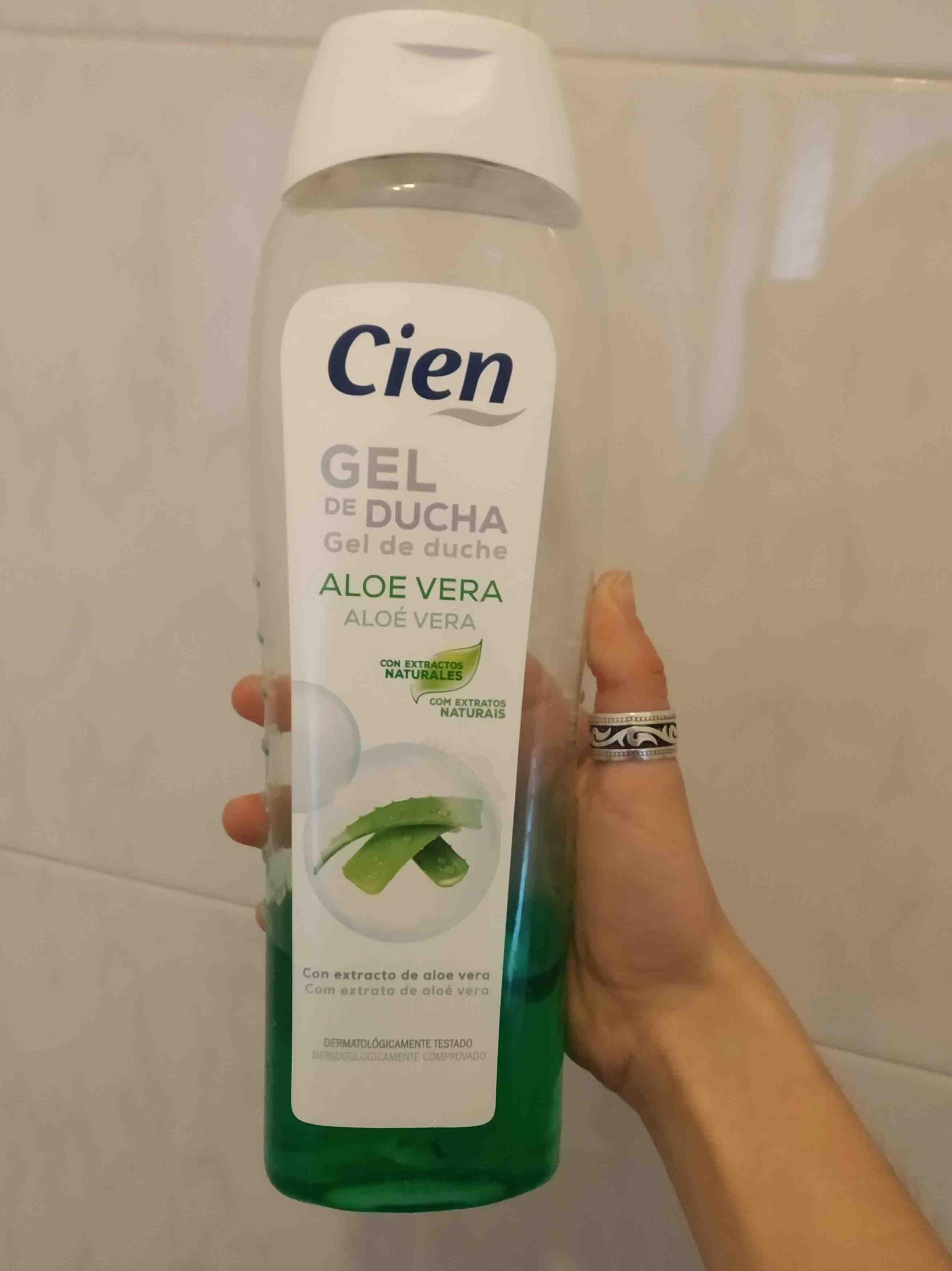 Cien gel de ducha aloe vera - Product - en