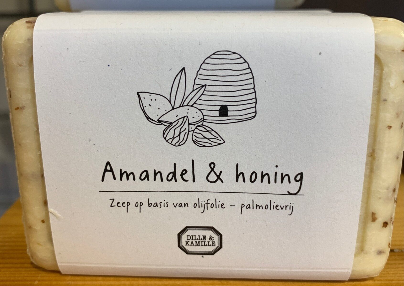 Almond and Honey Soap - Product - fr