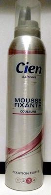 Mousse Fixante Couleurs Fixation Forte - Produit