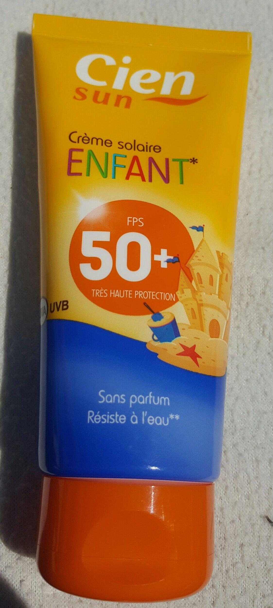 Crème solaire enfant FPS50+ - Product - fr