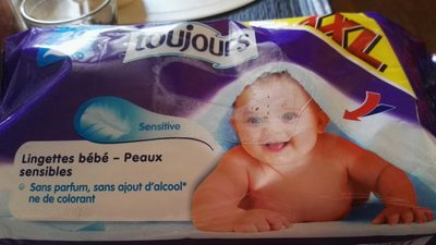 Toujours - Sensitive Baby - Feuchttücher FüR Lidl - Produit
