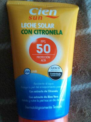 Cien crema solar - Product - en
