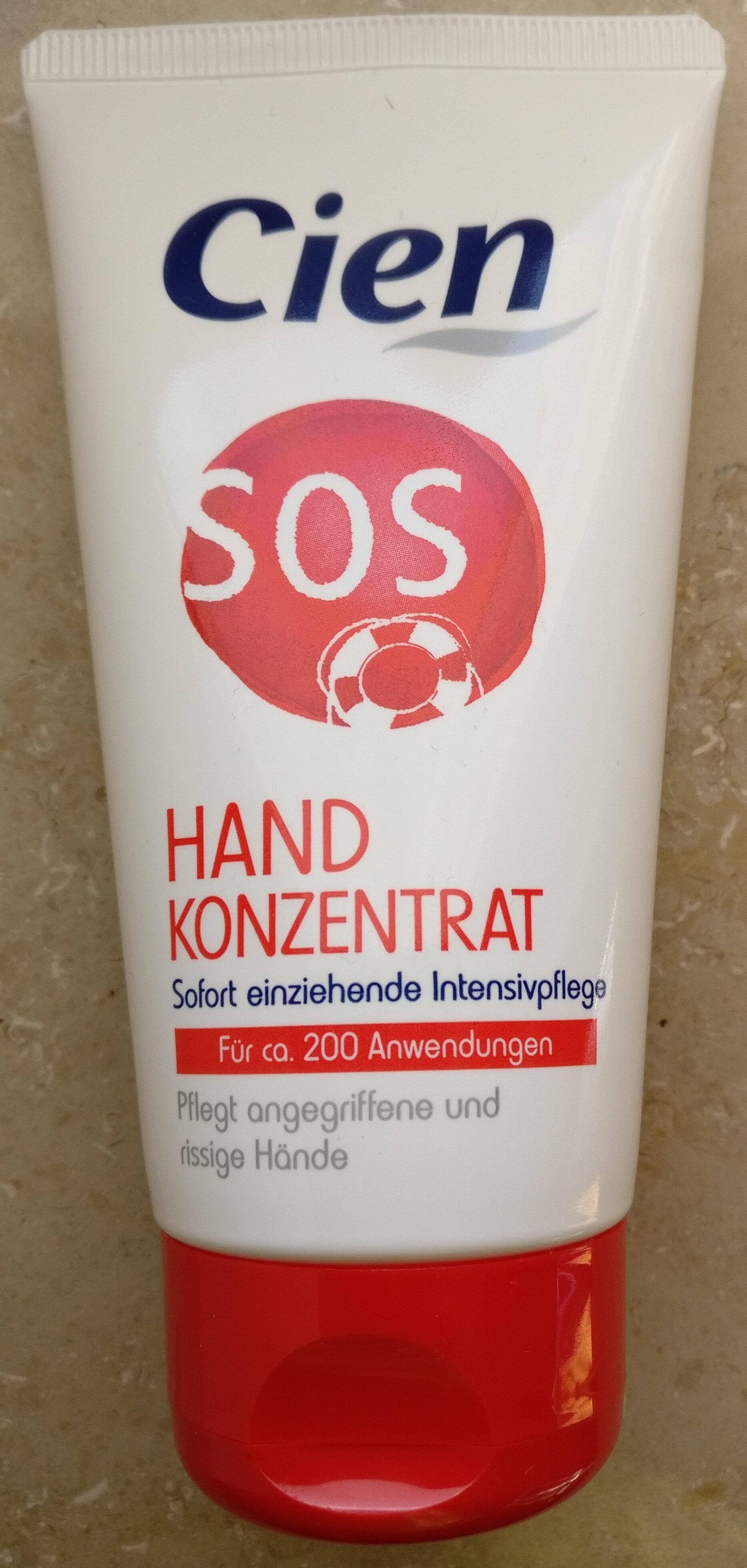 Crème mains concentrée SOS - Produkt - de