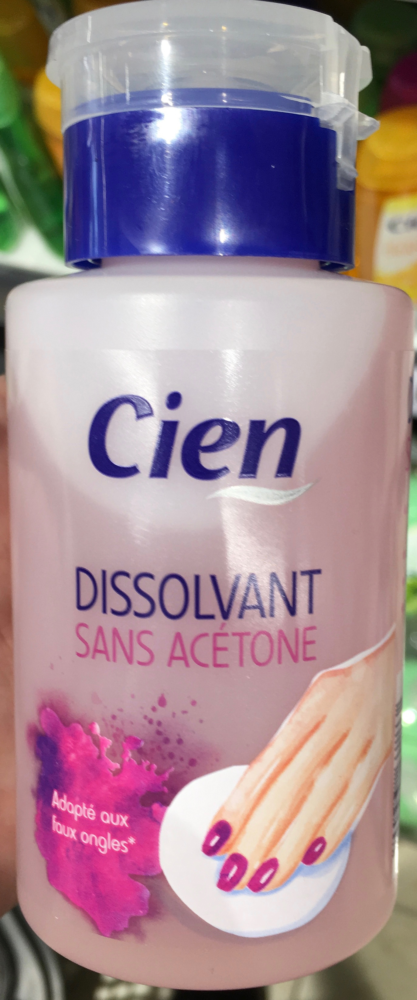 Dissolvant sans acétone - Produit - fr