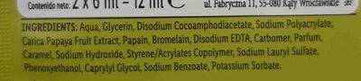 cleaning mask - Ingredients - en