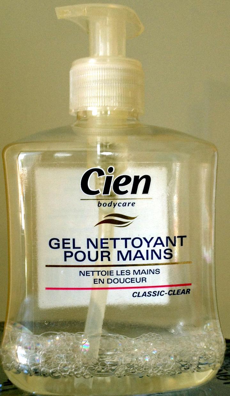 Gel nettoyant pour mains Classic-Clear - Produit - fr