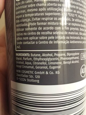 Cien Men - Ingredients - en
