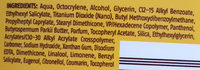 Sonnenmilch classic LSF 30 - Ingredients