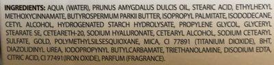 Crème de jour anti-âge Gold (Or 1%) - Ingredients - fr