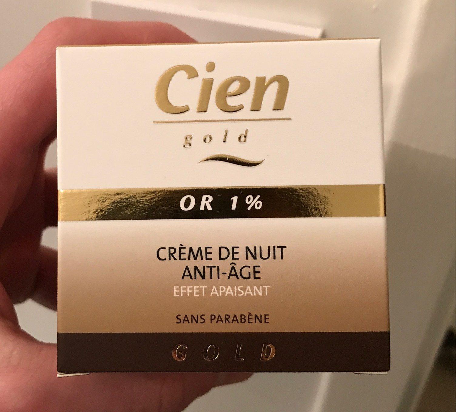 Cien Gold Cell Regenerating Night Cream 50ML - Produit - fr