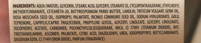Cien Gold Cell Regenerating Night Cream 50ML - Ingrédients