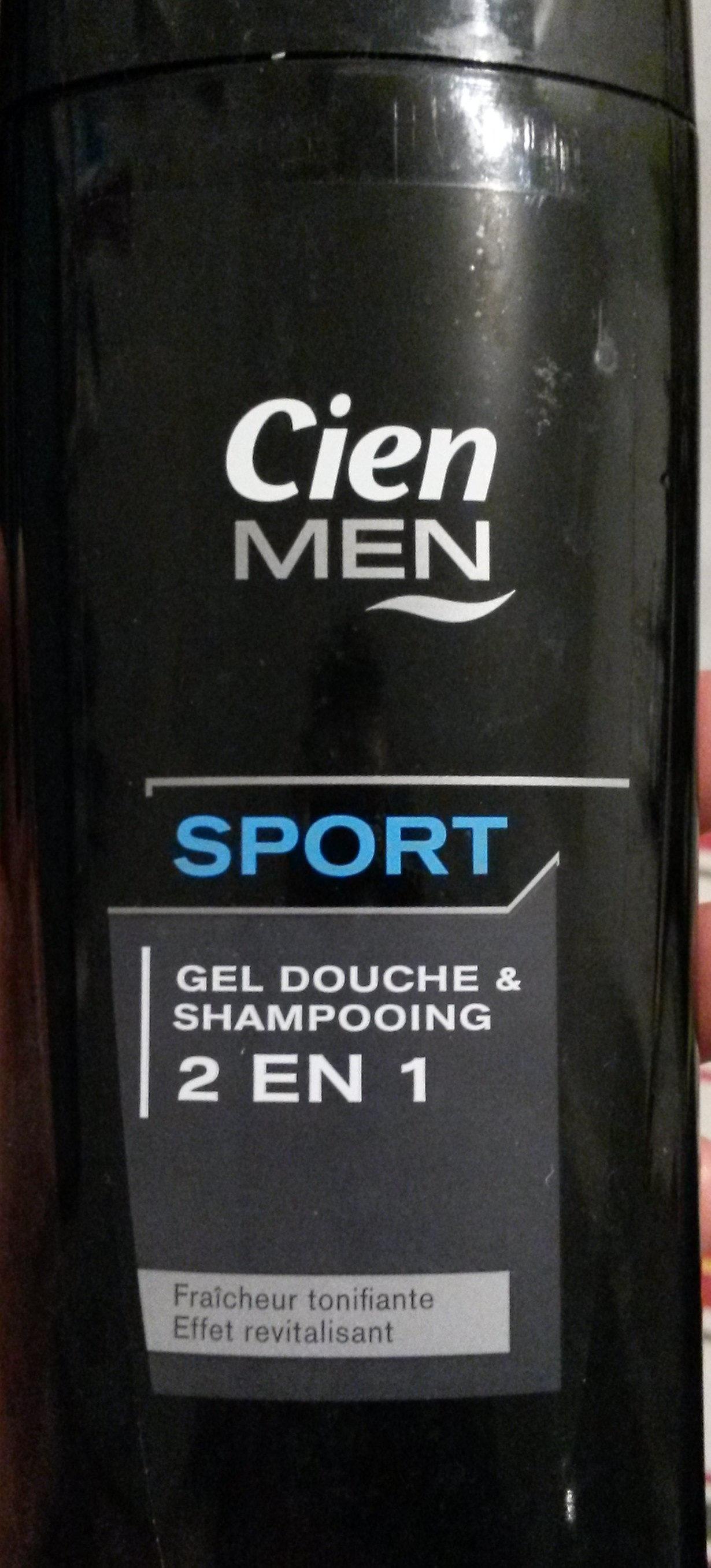 Gel douche et shampooing Sport 2 en 1 - Produit - fr