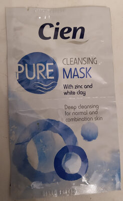 Cien Pure Cleansing Mask with zinc and white clay - Produit - nl