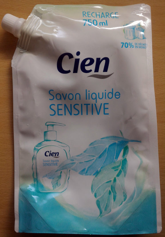 Savon liquide Sensitive (Recharge) - Product