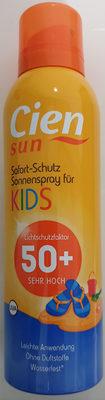 Sofort-Schutz Sonnenspray für Kids 50+ - Product - de