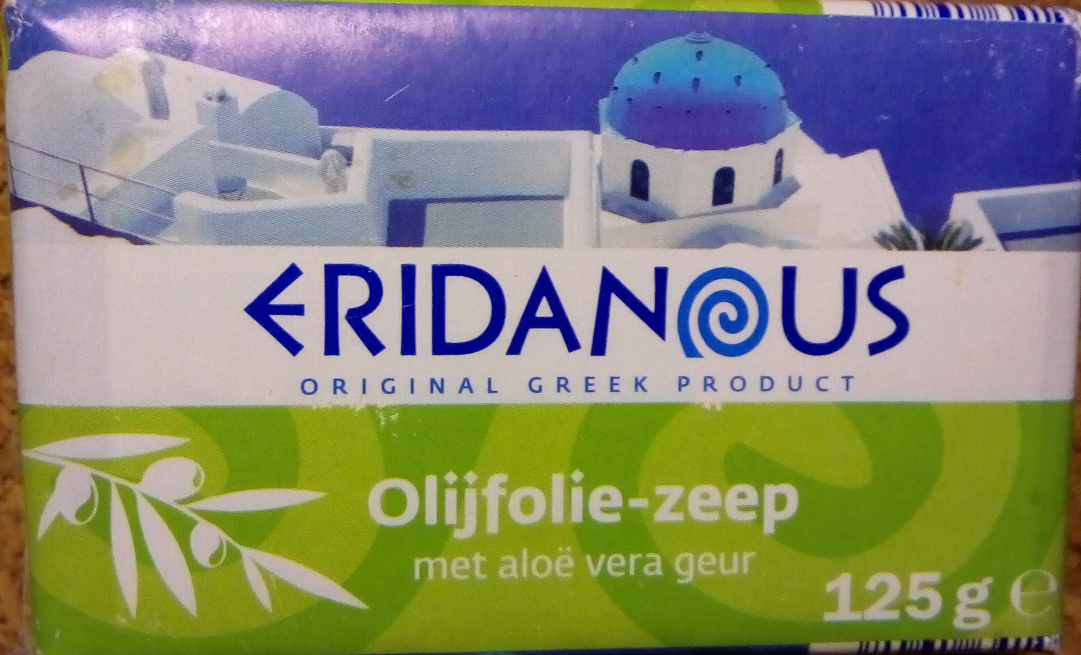 Olijfolie-zeep met aloe vera geur - Product