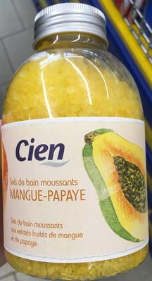 Sels de bain moussants Mangue-Papaye - Product - fr