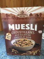 MIESLI croustillant aux éclats de chocolat noir - Produit - fr