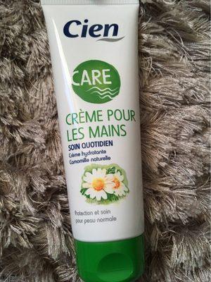 CARE Crème pour les mains - Produit